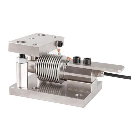 Bending beam load cell weight module