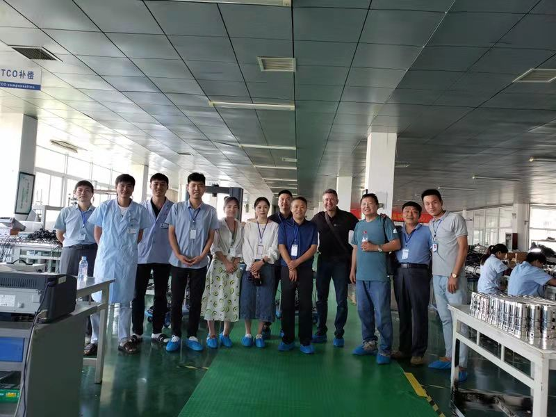 BACE team had a Zhimin factory tour