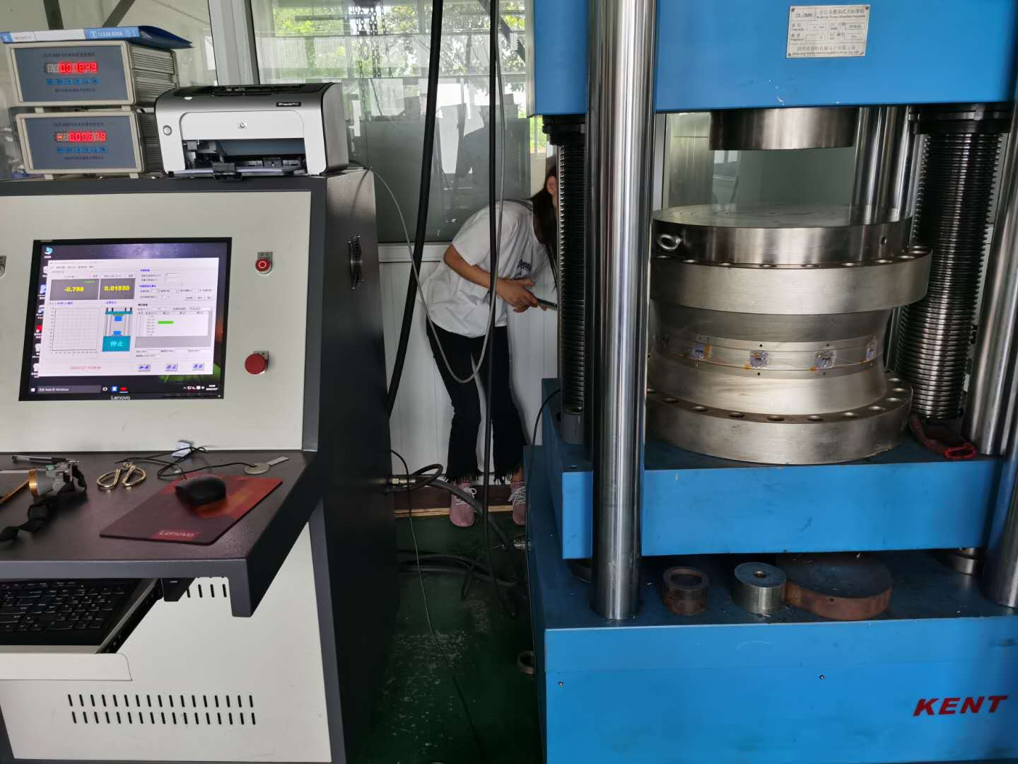 Zhimin produces 3000T compression and tension load cell